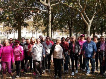 Marche contre le cancer du sein à Villejuif